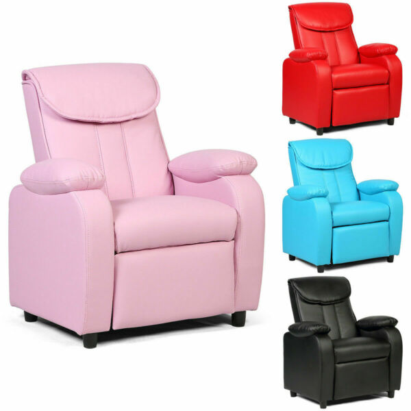 New Kid Recliner Sofa Armrest Chair Couch Children Living Room Furniture Home