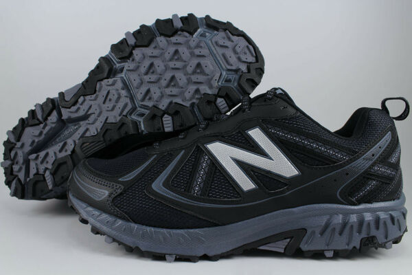 NEW BALANCE 410 WIDE 4E EEEE BLACK/BLUE GRAY TRAIL RUNNING HIKING MT410LB5 MENS