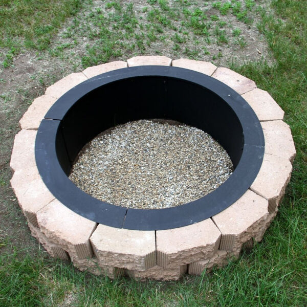 Heavy Duty DIY Build Your Own In Ground Wood Fire Pit Ring Rim $195.99