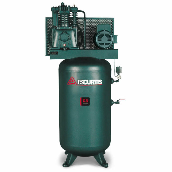 FS-Curtis CA7.5 7.5-HP 80-Gallon Two-Stage Air Compressor (230V 1-Phase)
