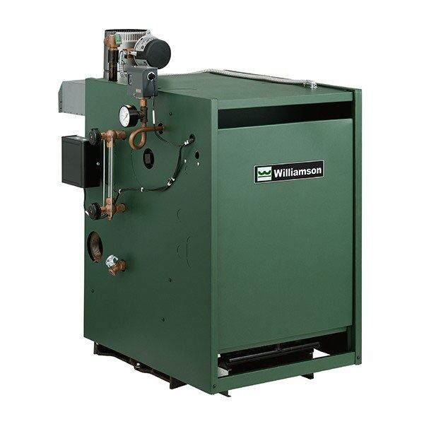 Williamson  Weil-McLain Gas Steam Boiler 100000 BTU GSA100NIP