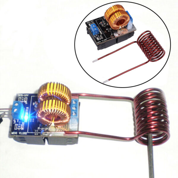 150W ZVS Induction Heating Board High Voltage Generator Heater WCoil DC 5-15V
