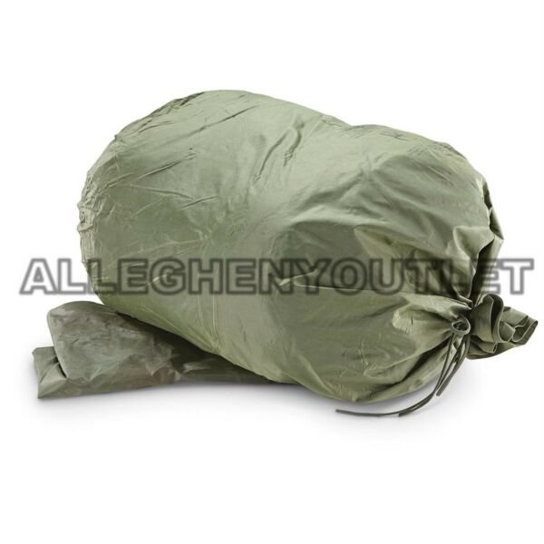 US Army Military WATERPROOF CLOTHES Clothing GEAR WET WEATHER LAUNDRY BAG MINT