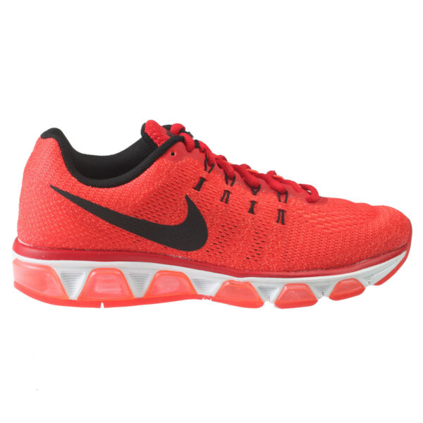 Nike Air Max Tailwind 8 Mens 805941-600 Red Orange Mesh Running Shoes Size 9
