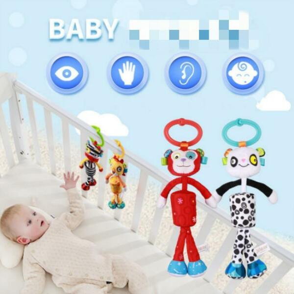 Infant Toys Mobile Baby Plush Bed Wind Chimes Rattles Bell Toy Stroller Q $7.05