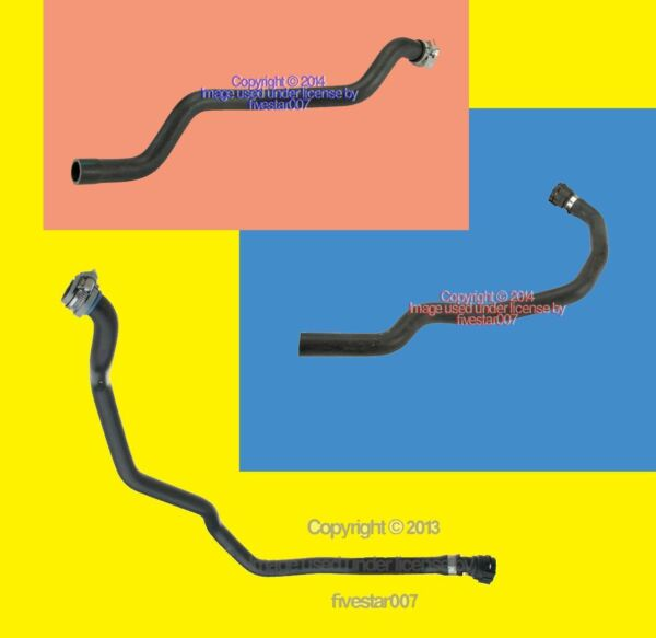 OEm Engine Inlet Heater Valve Coolant Overflow Tank water Hose kit BMW 3 Series