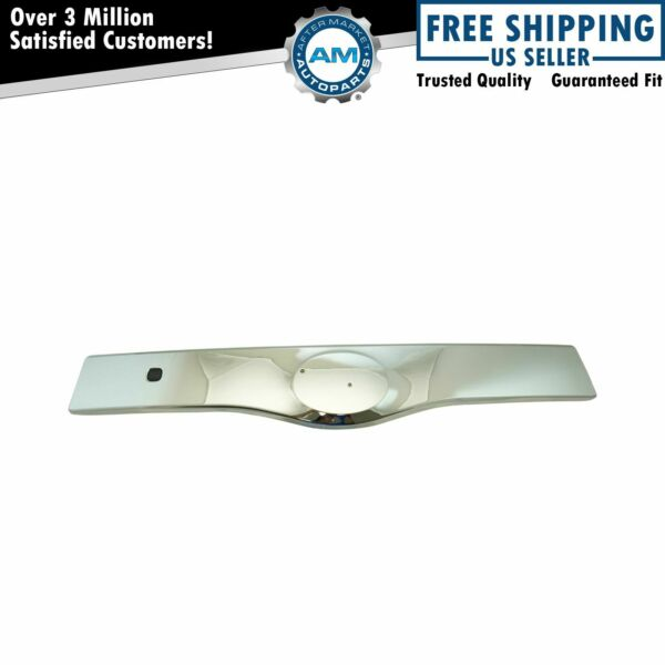 Rear Exterior Outside Tailgate Liftgate Handle Garnish Chrome for Toyota Prius