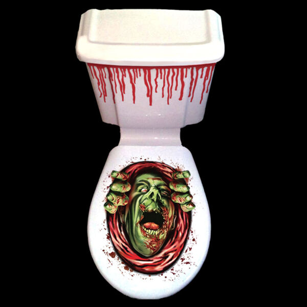 Halloween Party Bloody Horror Toilet & Cistern Decoration