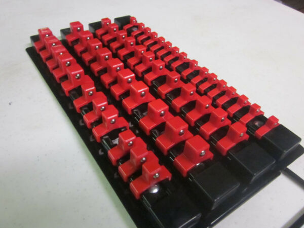 49pc RED CLIPS 10-5/8
