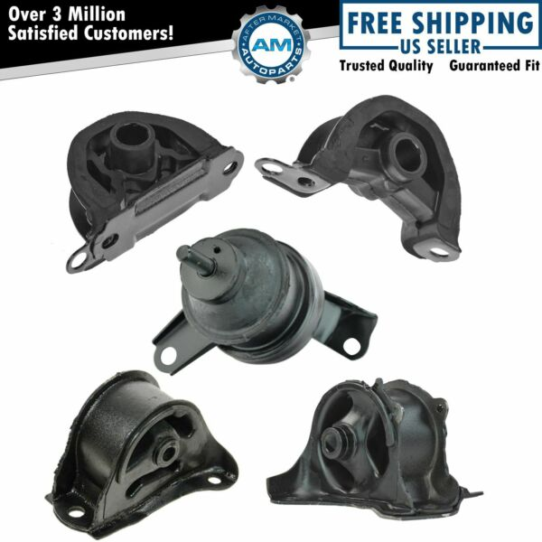 Engine Motor Transmission Mount Set Kit for 97-01 Honda CR-V CRV 2.0L AT Auto