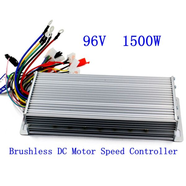96V 1500W Electric Bicycle E bike Scooter Brushless DC Motor Speed Controller $46.99