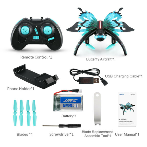 US JJRC H42 Wifi Butterfly Model Drone FPV Camera RC Quadcopter Aircraft GIFTS