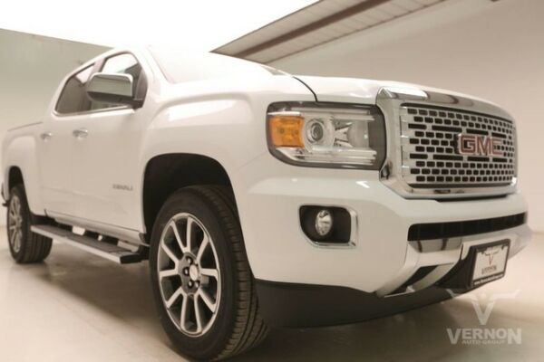 2018 GMC Canyon Denali Crew Cab Pickup 4-Door 2018 Navigation Leather 20s Aluminum Bluetooth V6 DOHC Vernon Auto Group