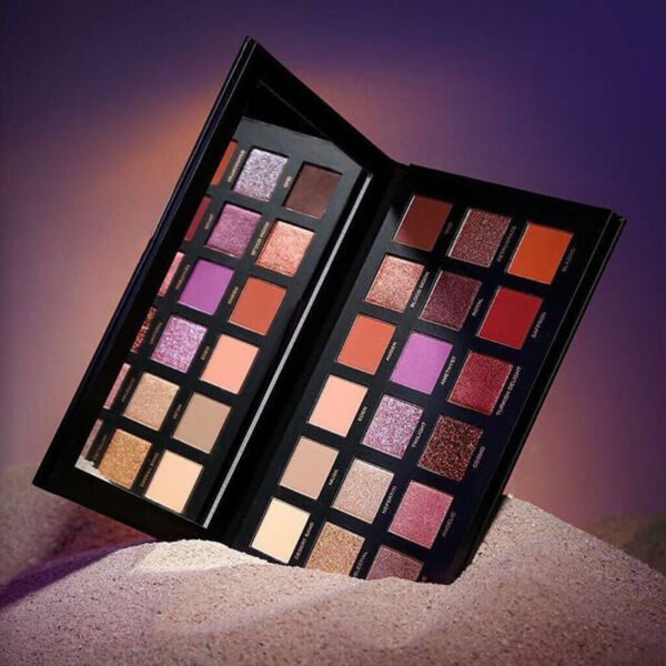 New Huda Beauty Desert Dusk Eye Shadows Palette Eye Shadows 18 Colors US Seller