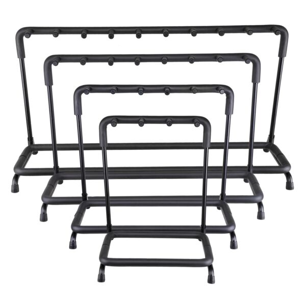 Guitar Stand 3 5 7 9 Holder Guitar Folding Rack Stand Stage Bass Acoustic Guitar $40.90
