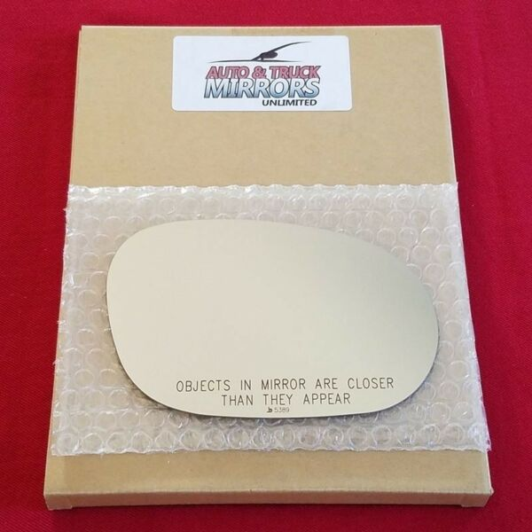 Mirror Glass For 08-18 Dodge Challenger Passenger Side Replacement
