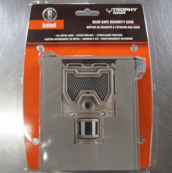 Bushnell 119657C Bear Safe Security Case For Trophy Cam Trail Cams NEW