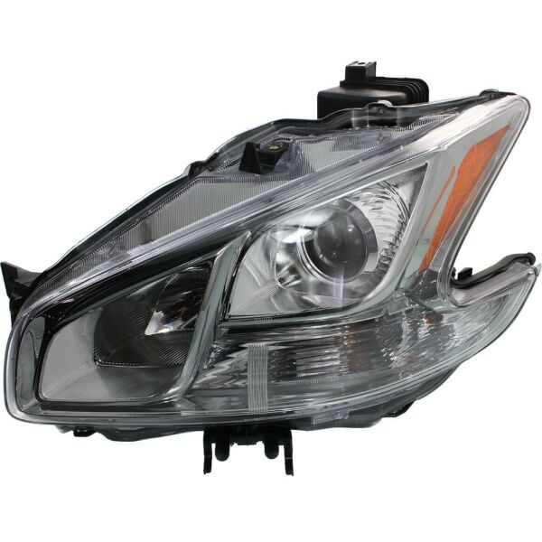 Headlight For 2009 2014 Nissan Maxima S SV Models Left With Bulb $87.77