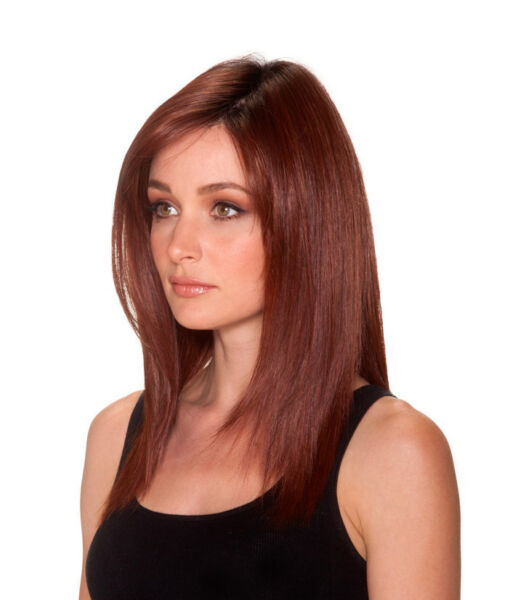 Straight Press 18 - Belle Tress Wig Lace Front Monotop You Choose Color