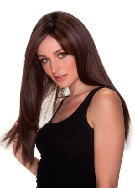 Straight Press 23 - Belle Tress Wig Lace Front Monotop You Choose Color