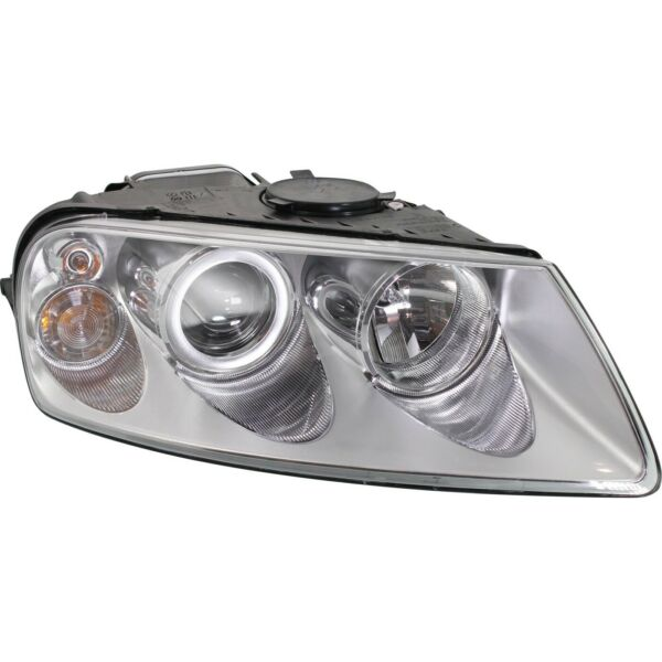 Headlight For 2004 2007 Volkswagen Touareg Right Clear Lens With Bulb