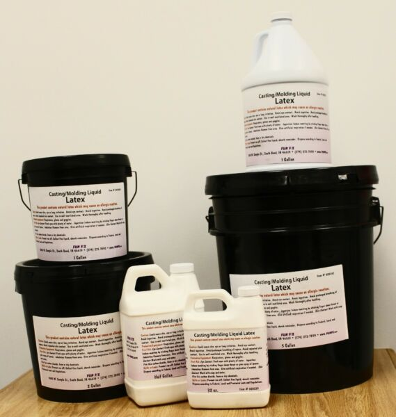 Fun FX Liquid Latex - Several Sizes! Great for molds and masks!