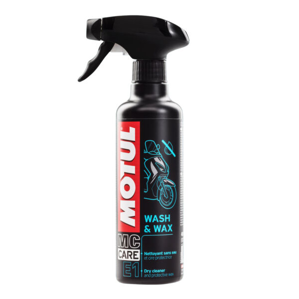 Motul Motorcycle Cleaner E1 Wash And Wax 400ml GBP 11.18