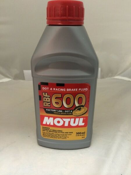 Motul RBF 600 Factory Line DOT 4 Racing Brake Fluid Fully Synthetic CAR AND BI