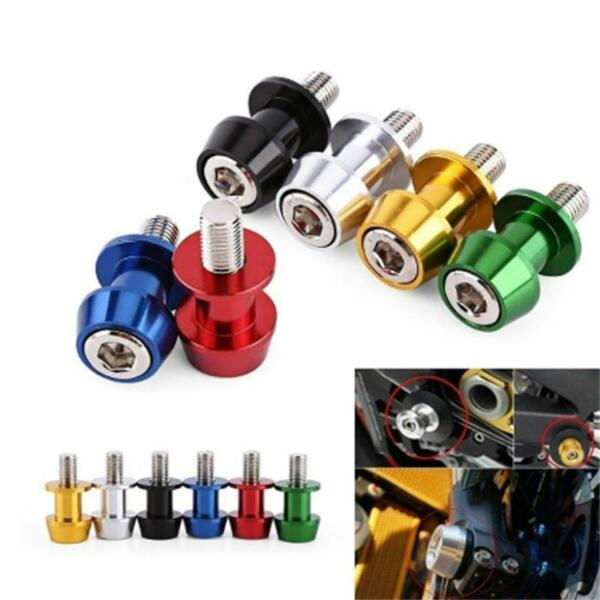 Universal Motorcycle Bike Swing Arm Spool Slider Stand Screw Bobbin Q $4.57