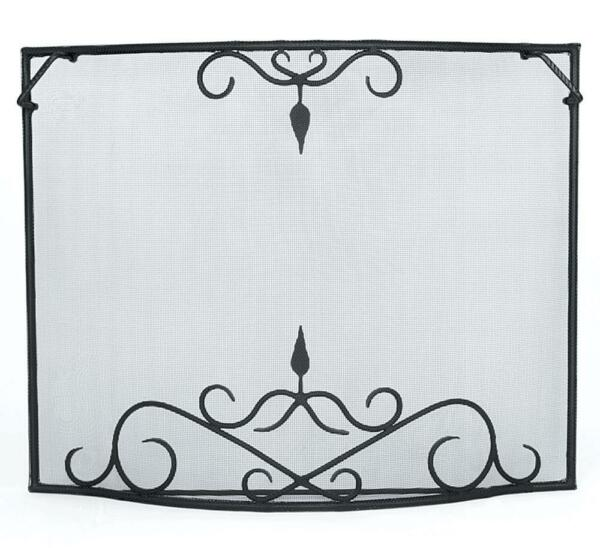Achla Minuteman Bostonian Curved Fireplace Fire Screen - Small GSB-3931