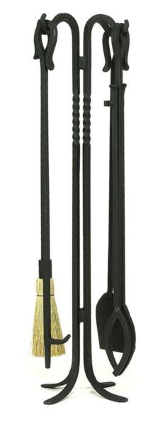 Achla Minuteman 5 Piece Fireplace Tool Set - Shepherd's Hook I WR-21-38