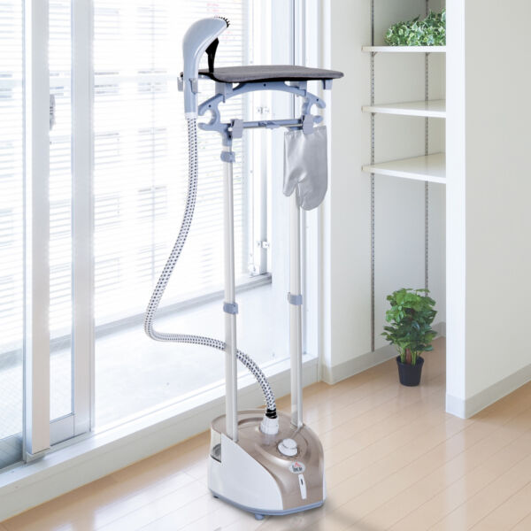 2L Full Size Garment Steamer Professional Clothes Fabric Iron w Ironing Board