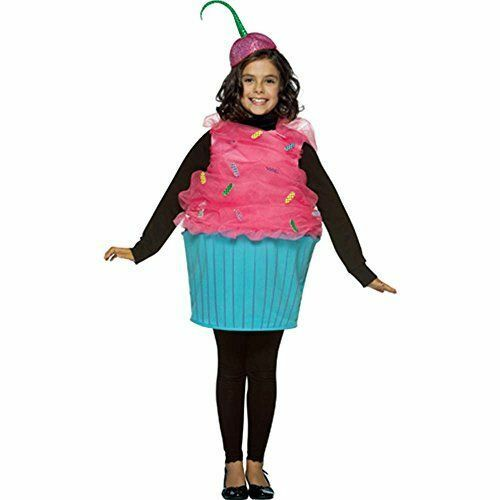 Rasta Imposta Child Cupcake Costume Size: 7 10 Years Old