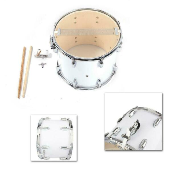 New Marching Snare Drum Drumstick Percussion Silver W Drumsticks $46.89