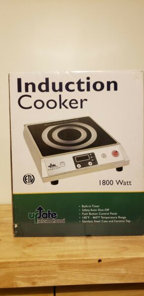 Countertop Burners Update International IC-1800WN 120 Commercial Induction