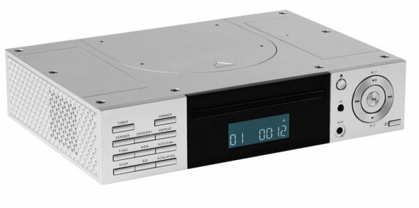 MEDION LIFE E66265 MD 43147 Stereo CD Player Unterbauradio UKW AUX RDS silber