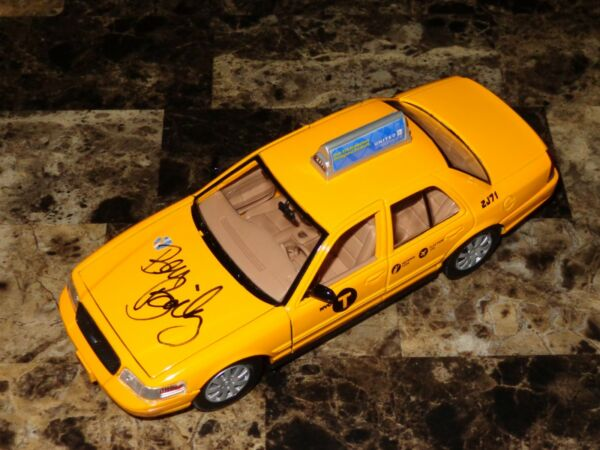 Cash Cab Ben Bailey Signed 1:24 Scale Prop New York City Taxi Cab Car Ford + COA