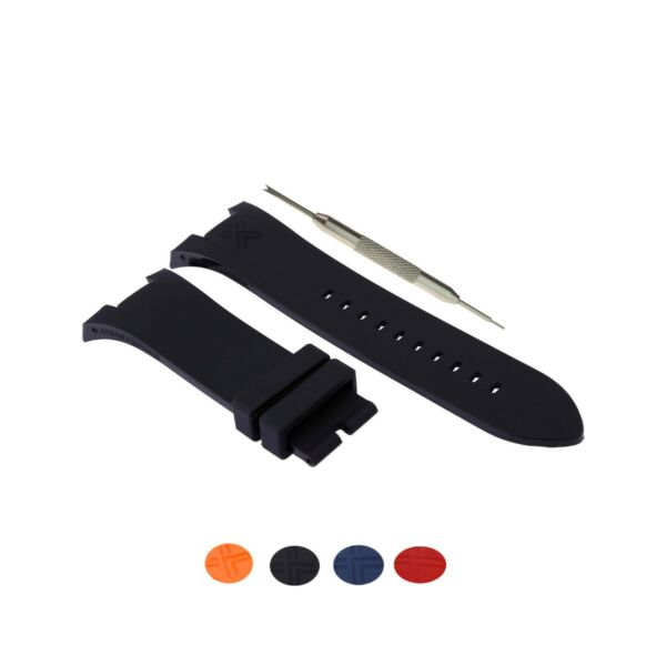 31mm Silicone Rubber Watch Strap Band Fits For Armani Exchange AX Series W Tool