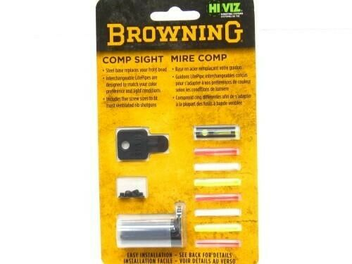 Browning 12850 Front Hiviz Comp Sight System For Most Browning Shotguns
