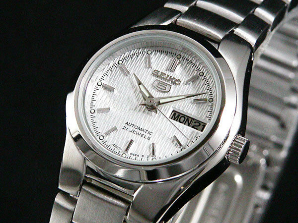 New Seiko Women Automatic Watch Analogue Display Stainless Steel Band  SYMC07