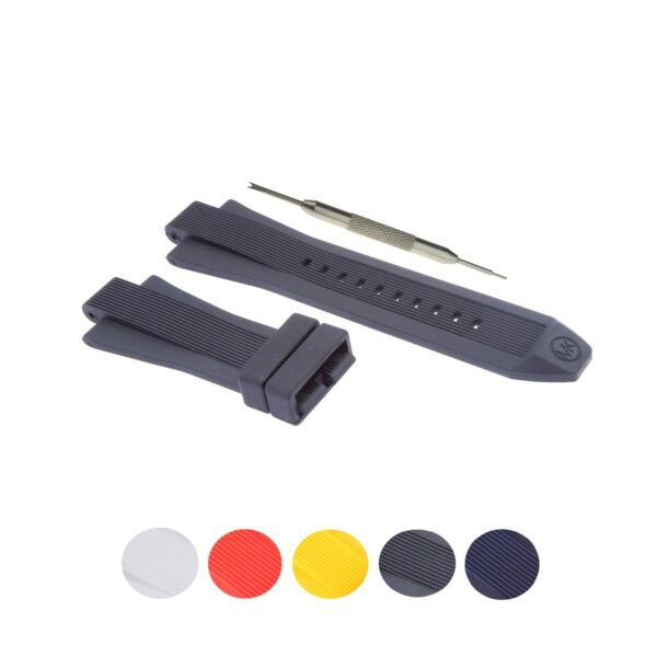 13x29mm Silicone Rubber Watch Strap Band Fits For Michael Kors W Tool