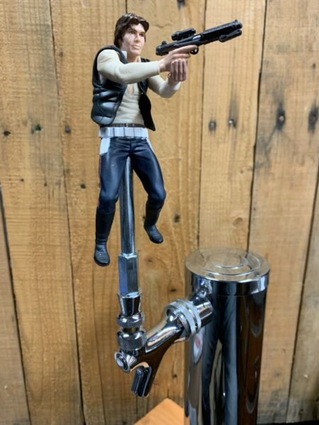 STAR WARS Tap Handle Han Solo EMPIRE STRIKES BACK  Beer Keg Pull Knob