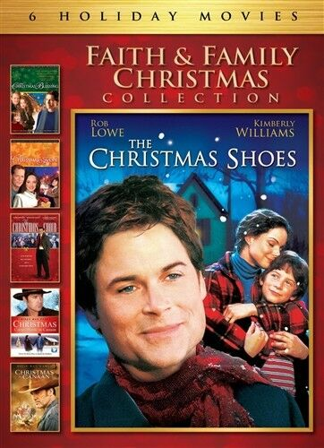 FAITH amp; FAMILY CHRISTMAS COLLECTION New DVD 6 Films Shoes Blessing Hope Choir