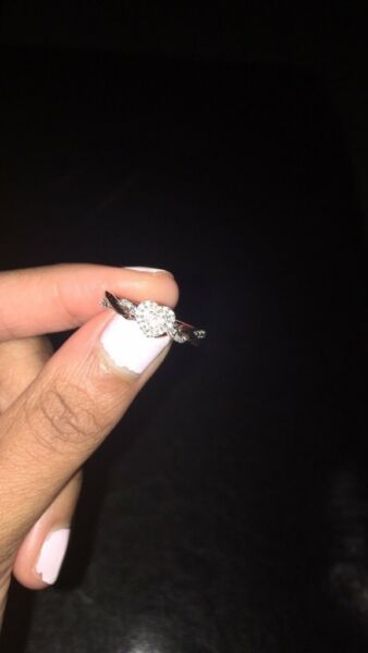 Hold My Hand Diamond Promise Ring