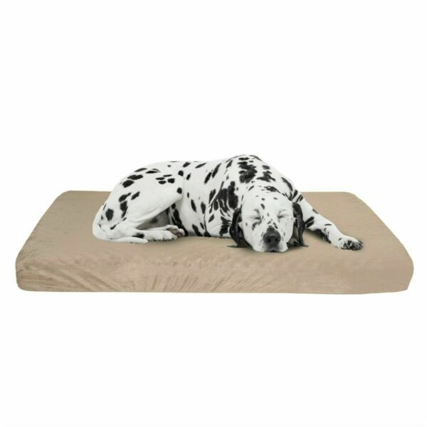 Large Orthopedic Memory Foam Dog Bed With Removable Cover 37 x 24 $32.99
