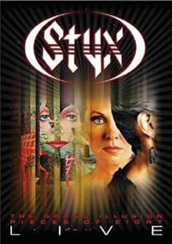 Styx: The Grand IllusionPieces of Eight - Live NEW! DVDCONCERT LIVE WIDESCREEN