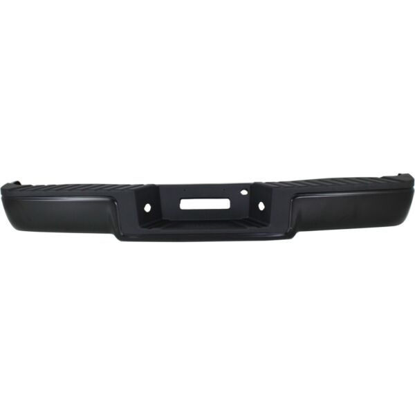 Step Bumper For 2006 08 Ford F 150 Assembly Hitch Style Powdercoated Black Rear $205.63