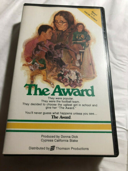 THE AWARD BASED REAL LIFE INCIDIENT PRODUCED DONNA DICK TORY JAKE WEYLANDVHS
