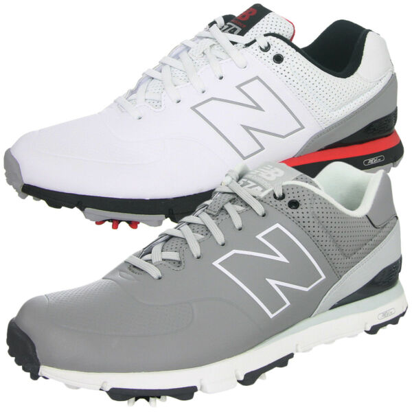 New Balance NBG574 Men's Microfiber Leather Golf Shoes,  Brand New