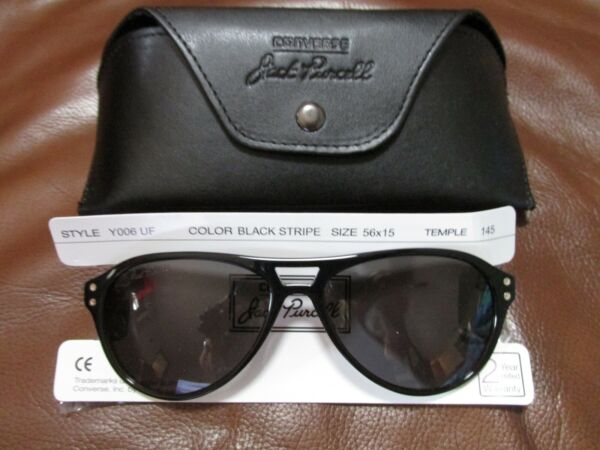 NEW Converse JACK PURCELL Sunglasses Y006 UF Black Stripe